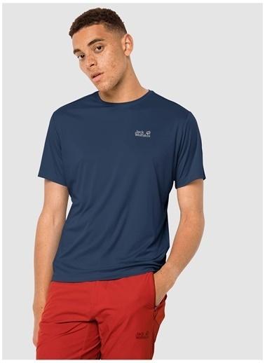Jack Wolfskin Jack Wolfskin 1807071-1024 Tech T M T-Shirt Lacivert